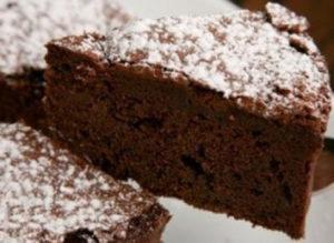 Gâteau au Nutella au micro-onde