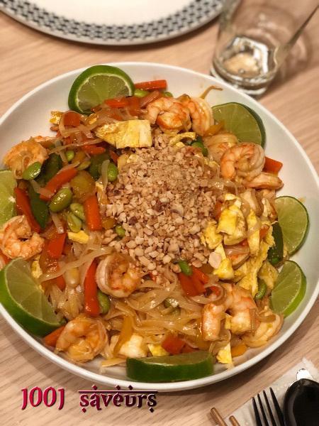 Pad Thai aux crevettes