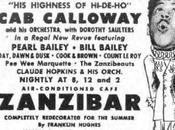 1945: Calloway Zanzibar Cafe