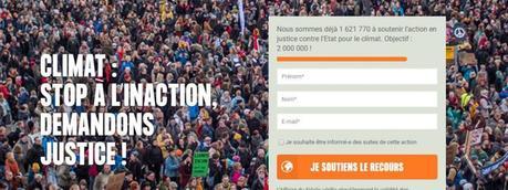 2 millions de signatures pour «l'affaire du siècle»
