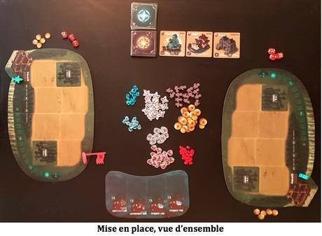 Test de Shaolia : Warring States chez Bad Comet Games bientôt sur Kickstarter !