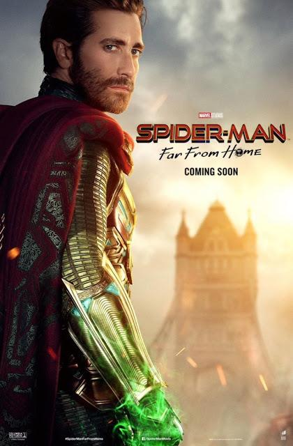Affiches personnages US et VF pour Spider-Man : Far From Home de Jon Watts