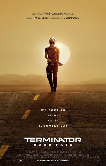Première affiche teaser US pour Terminator : Dark Fate de Tim Miller