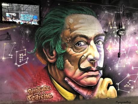 Premier festival de peinture fraîche (street-art) à Lyon