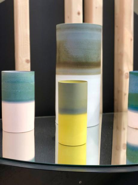 vase ceramique ombre biscuit artisan art sarah meyers laura fugmann