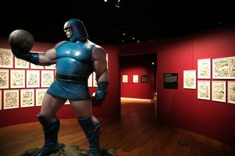 #Culture #BD - 9 éme Biennale du 9e art - Exposition Jack Kirby la galaxie des super héros #Marvel - Musée Thomas Henry de Cherbourg