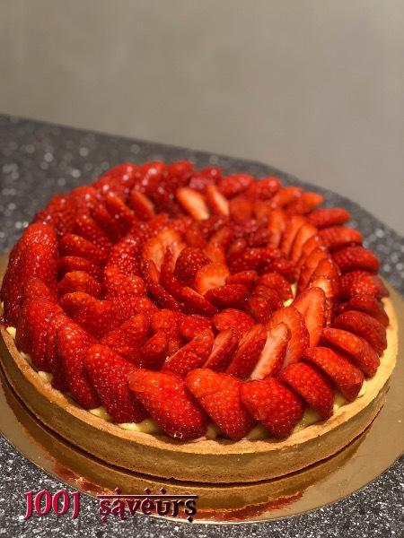 La tarte aux fraises version CAP