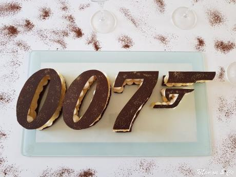 Gâteau James Bond 007
