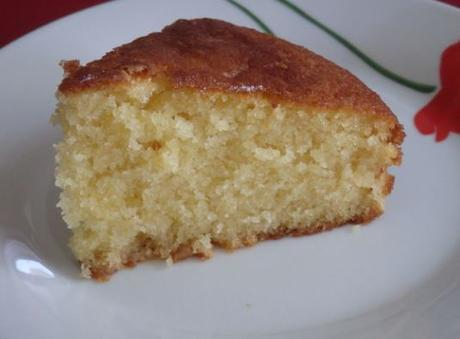 Gâteau crème dessert vanille