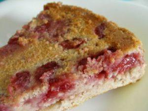 Gâteau aux fraises sans œuf