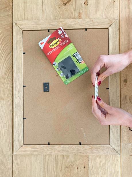languettes accroches tableaux command conseil test installation - blog décoration - clem around the corner