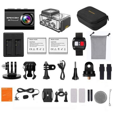 contenu apexCAM Camera M80 PRO