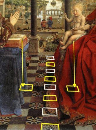 1435 Eyck_madonna_rolin motifs supplementaires