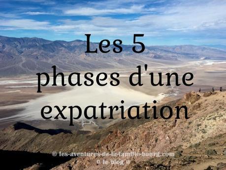 Les 5 phases d'une expatriation