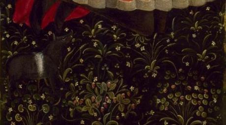 1475-85 Anonimo lombardo trittico Palazzo Madame Turin centre The Museum of Fine Arts, Houston volets detail