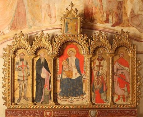 1408 Battista da Vicenza St Georges Antoine Blaise Martin Pieve di S. Giorgio, San Giorgio, Velo d'Astico