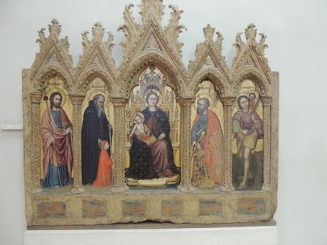 1370-99 Altichiero Boi polyptych Castelvecchio Verona provient de chapelle Zanardi de Boi,pres Caprino Veronese