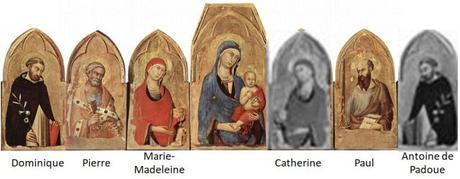 1323-24 Simone Martini Polyptyque de San Domenico Museo dell opera del duomo Orvieto
