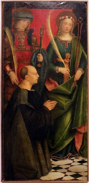 1503 Girolamo_giovenone,_ss._defendente_e_apollonia_con_un_devoto Pinacoteca del Castello Sforzesco