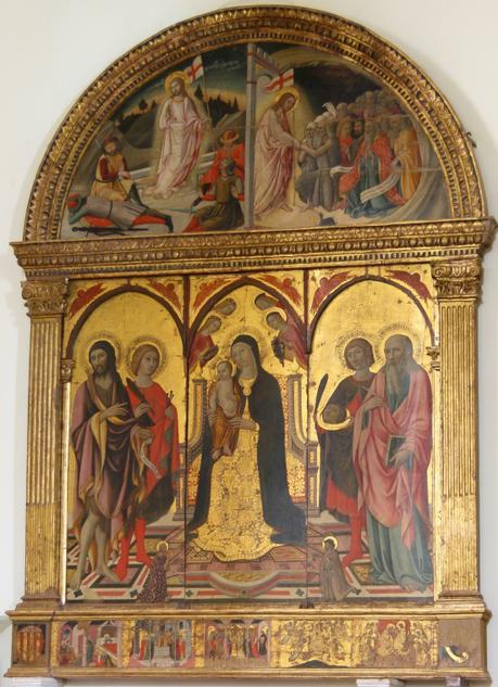 1440 ca Sano di Pietro Polittico della collegiata di San Quirico d'Orcia