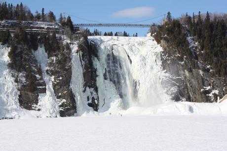 chute montmorency hiver