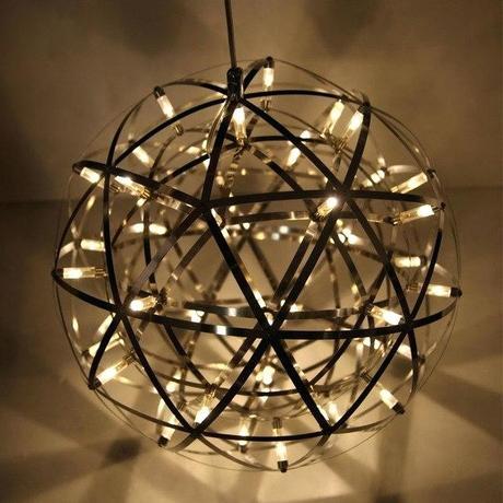 star pendant light modern star pendant lamp stainless steel creative circle pendant light led firework lamp ball restaurant hanging star light outdoor