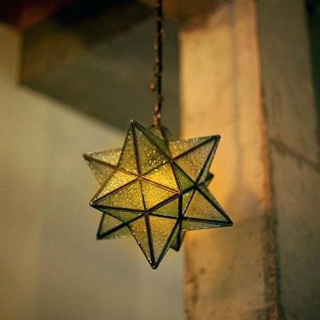 star pendant light hanging star pendant light retro style transparent star pendant light nz