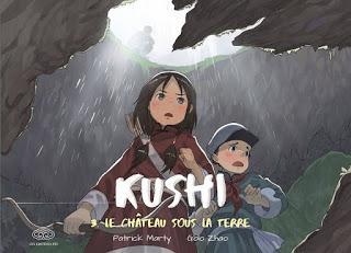 [7BD] Kushi tome 3 - Le château sous la terre aux éditions Fei