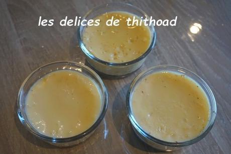 oeufs au lait allégés (WW) au i-cook'in ou pas