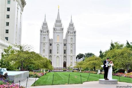 Découvrir Temple Square, la place des mormons à Salt Lake City