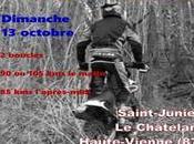 Rando moto l'ASSJ Verts Crampons Junien (87), dimanche octobre 2019