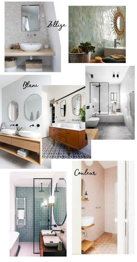 salle de bain crédence