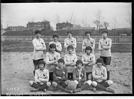 Equipe de France, avril 1920, http://gallica.bnf.fr/