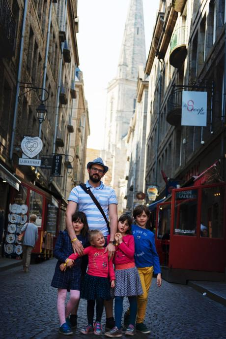 Vacances en Bretagne avec nos 4 enfants.