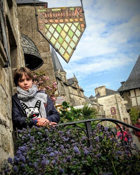 Ballade dans les rues de Rochefort en Terre