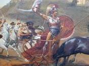 Achilleion (20) fresque triomphe d'Achille.