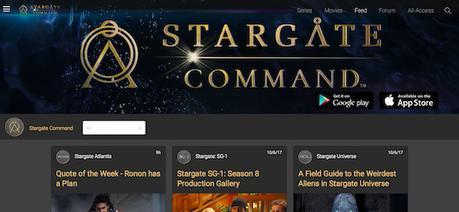 Le site Stargate Command fait peau neuve