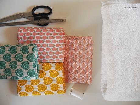 DIY – Coudre des lingettes démaquillantes lavables & un pochon de rangement