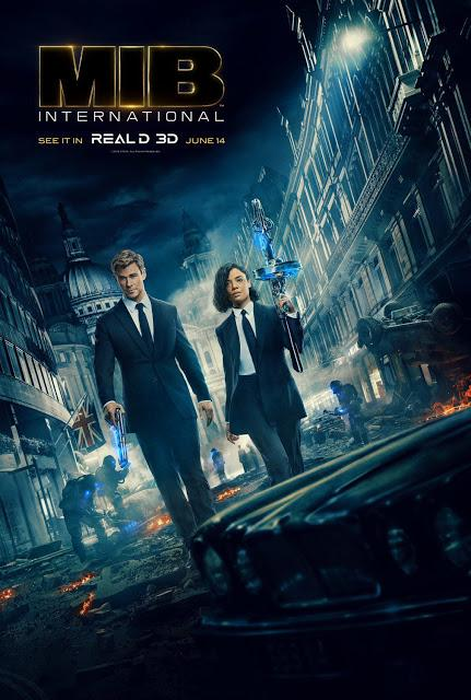 Affiches chinoise et Real 3D pour Men in Black International de F. Gary Gray