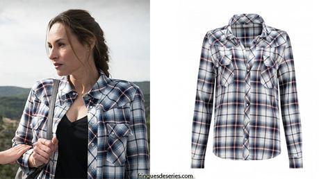 DEMAIN NOUS APPARTIENT – le prime : la chemise à carreaux de Rose Latour