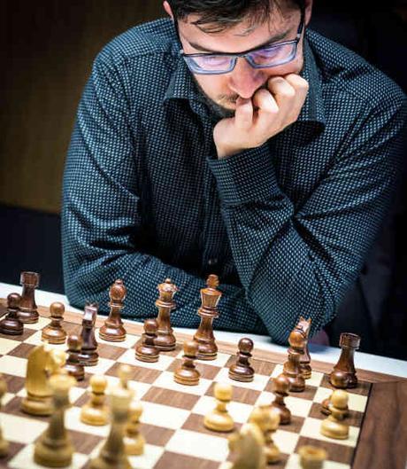 Maxime Vachier-Lagrave a annulé deux fois hier contre Magnus Carlsen au Norway Chess 2019 - Photo © Lennart Ootes