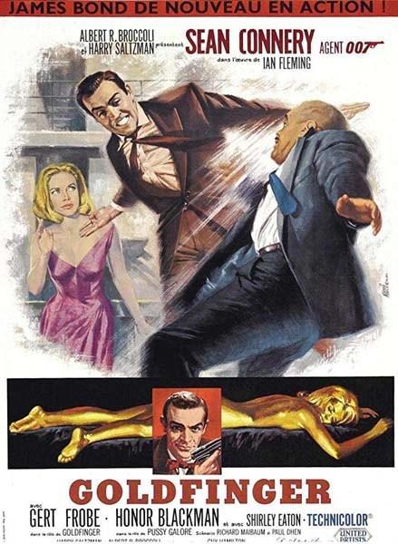 GOLDFINGER (1964) ★★★★☆