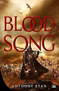 Blood Song de Anthony Ryan, T2 & T3 - Editions BRAGELONNE