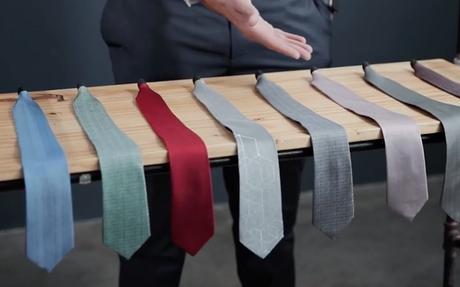 Il lance une concept de cravate magnétique