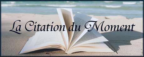 #41 La Citation du Moment
