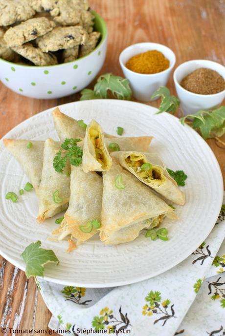 samoussas indiens aux légumes