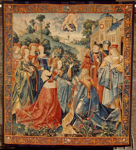 Tapisserie Anvers 1500-25 Musee de Cluny