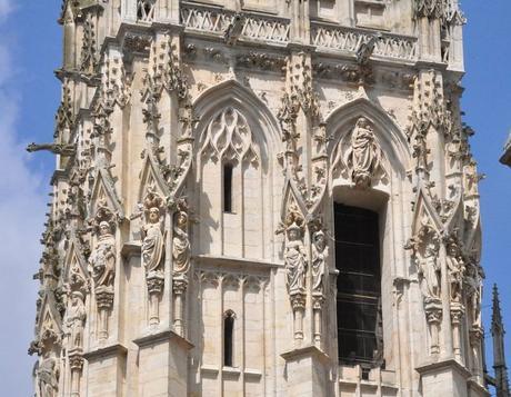 1500 ca Tour de Beurre cathedrale de rouen