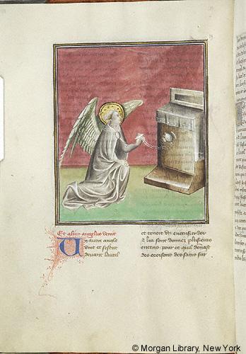 1415 ca, Apocalypse ms 133 fol .019v Morgan Library