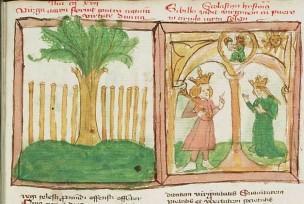 1450 Speculum humanae salvationis Augustus and the Tiburtine sybil 1